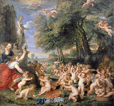 Worship of Venus, undated | Rubens | Painting Reproduction