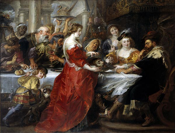 The Feast of Herod, c.1635/38 | Rubens | Painting Reproduction