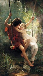 Springtime, 1873 by Pierre-Auguste Cot | Painting Reproduction