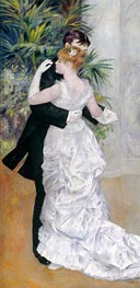 Dance in the City, 1883 by Renoir | Painting Reproduction