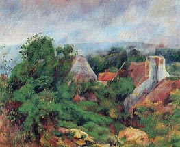 La Roche-Guyon, 1885 by Renoir | Painting Reproduction
