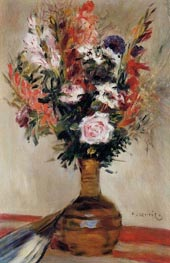 Roses in a Vase | Renoir | Painting Reproduction