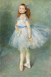 The Dancer, 1874 by Renoir | Painting Reproduction