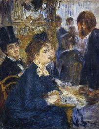 At the Cafe, c.1877 by Renoir | Painting Reproduction