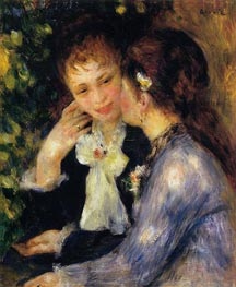 Confidences (Two Best Friends) | Renoir | Gemälde Reproduktion