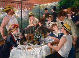 Luncheon of the Boating Party, c.1880/81 by Renoir | Painting Reproduction