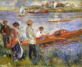 Oarsmen at Chatou | Renoir | Painting Reproduction