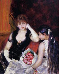 At the Concert (Box at the Opera) | Renoir | Gemälde Reproduktion