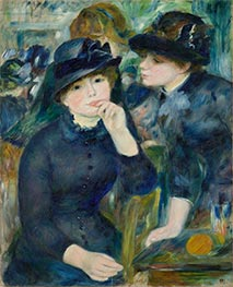 Girls in Black | Renoir | Gemälde Reproduktion