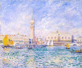 Venice, The Doge's Palace | Renoir | Painting Reproduction