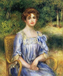 Madame Gaston Bernheim de Villers (Suzanne Adler) | Renoir | Painting Reproduction