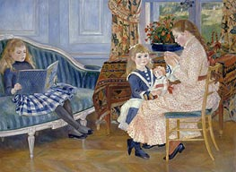 Children's Afternoon at Wargemont | Renoir | Painting Reproduction