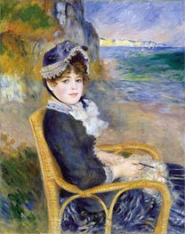 By the Seashore, 1883 by Renoir | Painting Reproduction