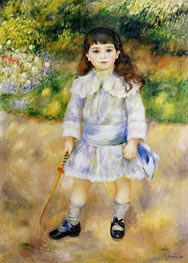Child with a Whip, 1885 von Renoir | Gemälde-Reproduktion