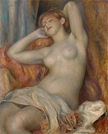 The Sleeping Bather (The Sleeper) | Renoir | Painting Reproduction