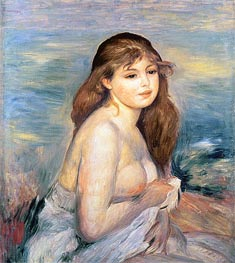 After the Bath (Little Bather) | Renoir | Painting Reproduction