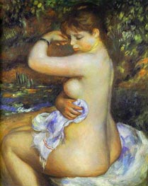 After the Bath | Renoir | Painting Reproduction