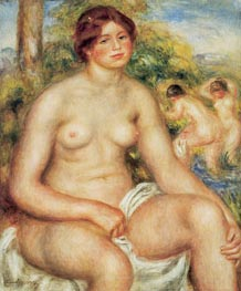 Seated Nude | Renoir | Painting Reproduction