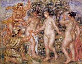 The Judgement of Paris | Renoir | Painting Reproduction