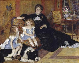 Madame Georges Charpentier and Her Children | Renoir | Gemälde Reproduktion