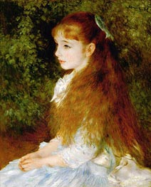 Irene Cahen d'Anvers, 1880 by Renoir | Painting Reproduction