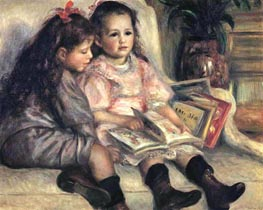 The Children of Martial Caillebotte, 1895 by Renoir | Painting Reproduction