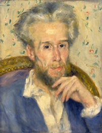 Portrait of Victor Chocquet, c.1876 by Renoir | Painting Reproduction