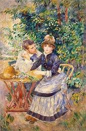 In the Garden, 1885 by Renoir | Painting Reproduction