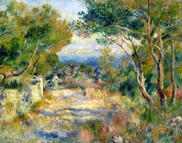 L'Estaque, 1882 by Renoir | Painting Reproduction