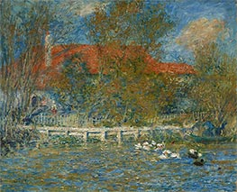 The Duck Pond | Renoir | Painting Reproduction