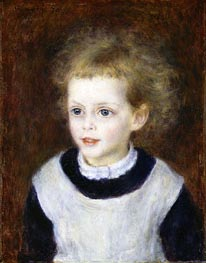 Marguerite-Therese (Margot) Berard | Renoir | Painting Reproduction