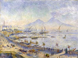 The Bay of Naples, 1881 von Renoir | Gemälde-Reproduktion