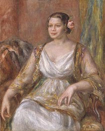 Tilla Durieux (Ottilie Godeffroy), 1914 by Renoir | Painting Reproduction