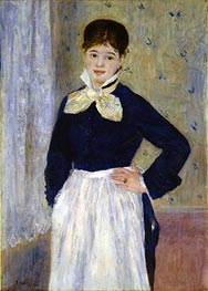 A Waitress at Duval's Restaurant | Renoir | Painting Reproduction