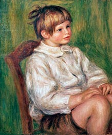 Coco (Claude Renoir) | Renoir | Painting Reproduction