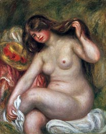 Large Bather, 1905 von Renoir | Gemälde-Reproduktion