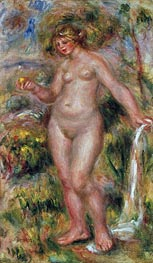 Bather, c.1917 von Renoir | Gemälde-Reproduktion