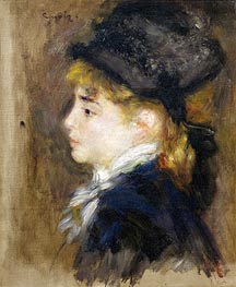 Portrait of Margot | Renoir | Painting Reproduction