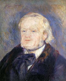 Richard Wagner | Renoir | Painting Reproduction