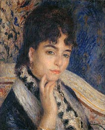 Portrait of Madame Alphonse Daudet | Renoir | Painting Reproduction