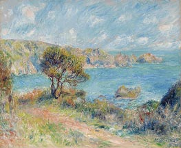 View at Guernsey | Renoir | Painting Reproduction