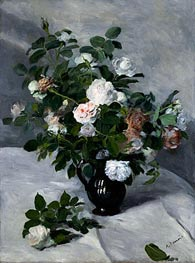 Still Life with Roses | Renoir | Gemälde Reproduktion
