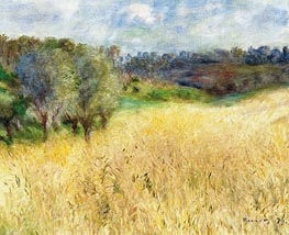 Wheatfield | Renoir | Painting Reproduction