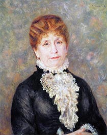 Madame Eugene Fould   Renoir   Painting Reproduction