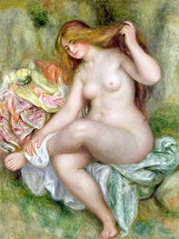 Seated Bather, c.1903/06 von Renoir | Gemälde-Reproduktion