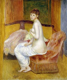 Seated Nude, Resting   Renoir   Painting Reproduction