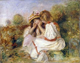 Two Girls   Renoir   Painting Reproduction