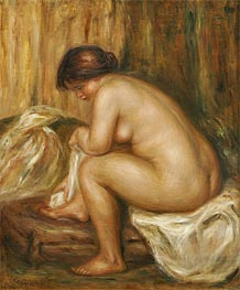 After the Bath, c.1900 von Renoir | Gemälde-Reproduktion