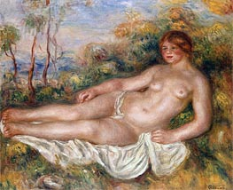 The Reclining Bather, 1906 von Renoir | Gemälde-Reproduktion