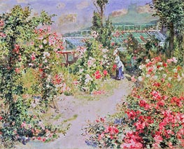 The Conservatory | Renoir | Painting Reproduction